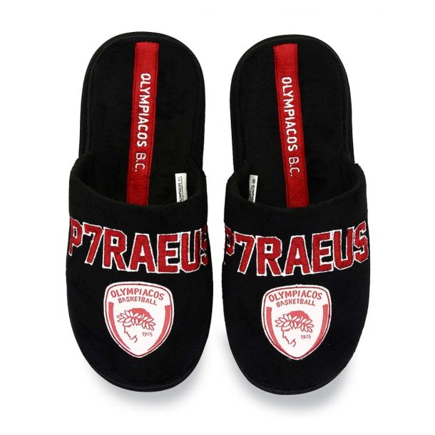 Men's Home Slippers Olympiacos Bc