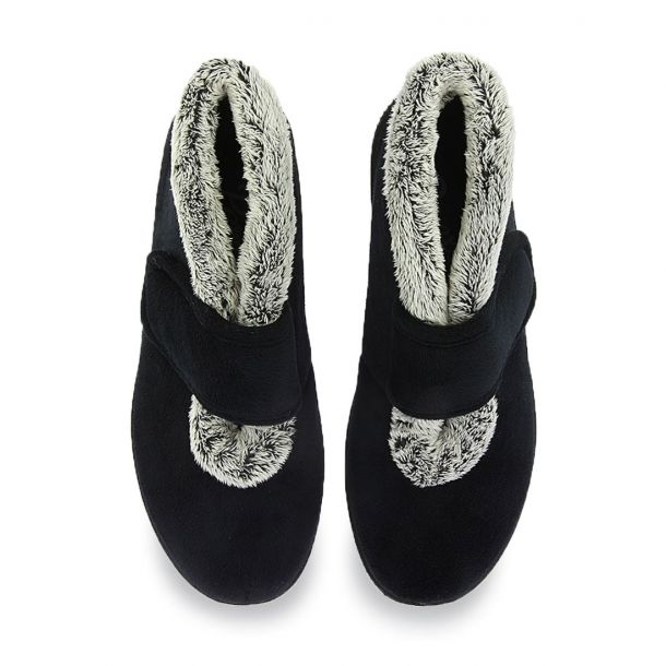 Women's Slippers With Velcro Parex