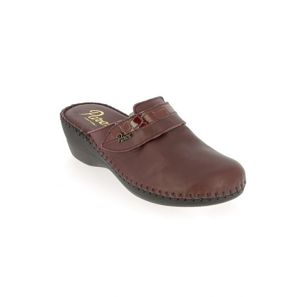 Women's Leather Slippers PAREX