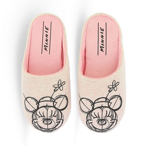 Women's Slippers Disney Minnie Mouse
