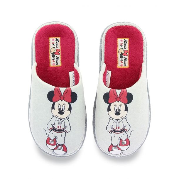 Girl's Slippers Disney Minnie