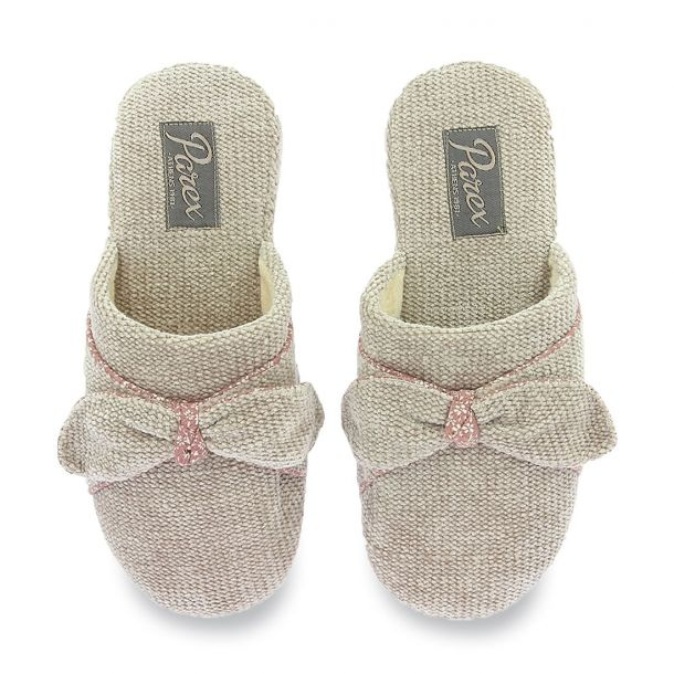 Women's Bow Slippers Parex