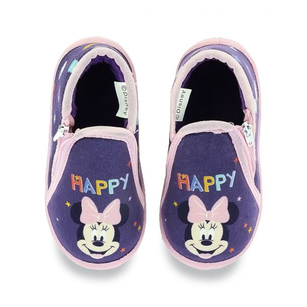 Kid's Slippers in Boot Style Disney Minnie