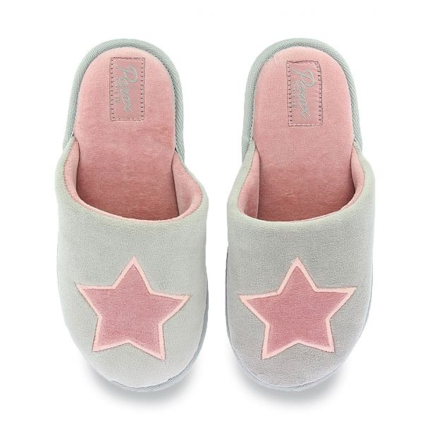 Women's Slippers With Star Parex