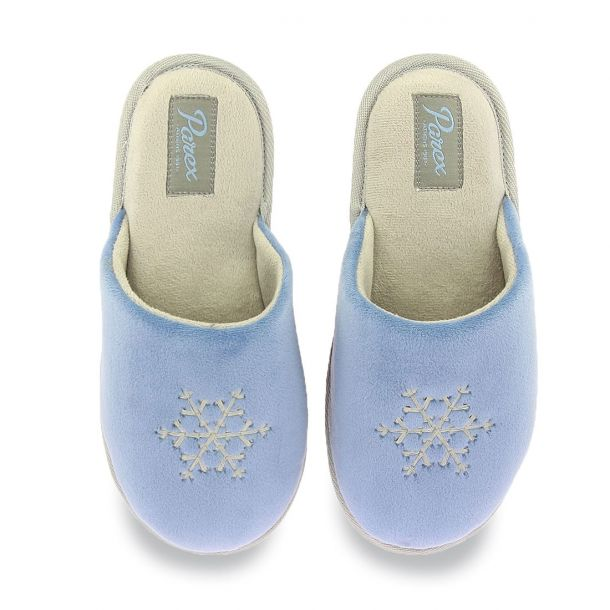 Women's Slippers With Snowflake Design Parex