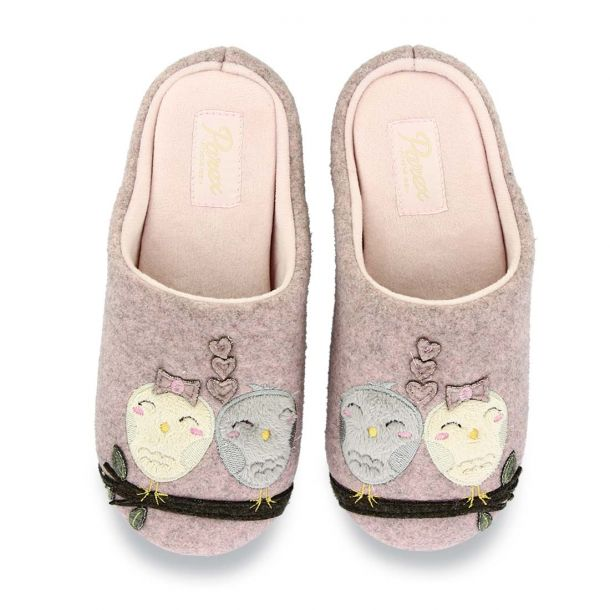 Women's House Slippers Stitched Parex 10120118