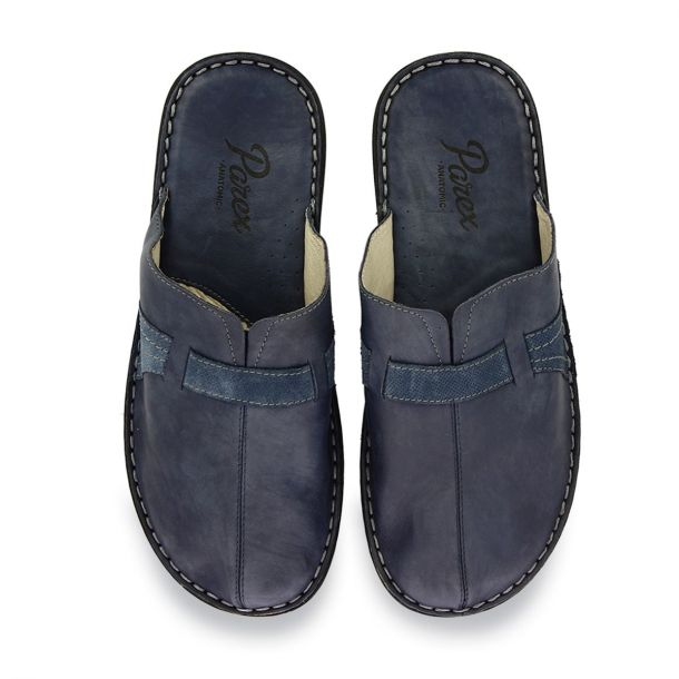 Men's Leather House Slippers Parex 10120179
