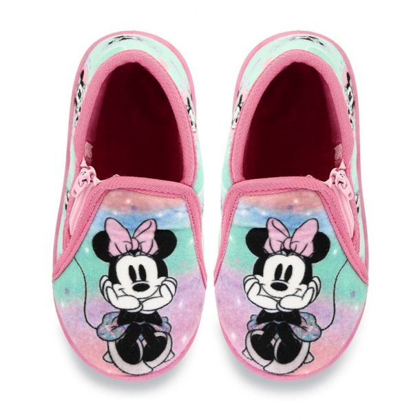Girl's House Slippers Boot Style Disney Minnie 10120215