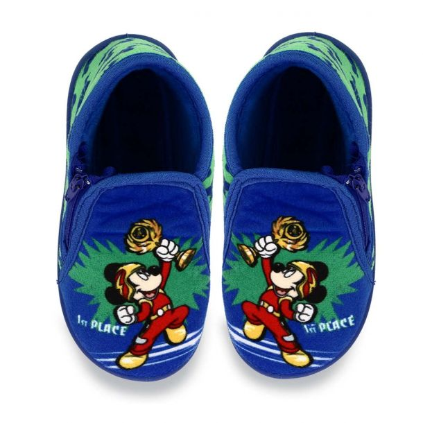 Boy's House Slippers Boot Style Disney Mickey 10120216