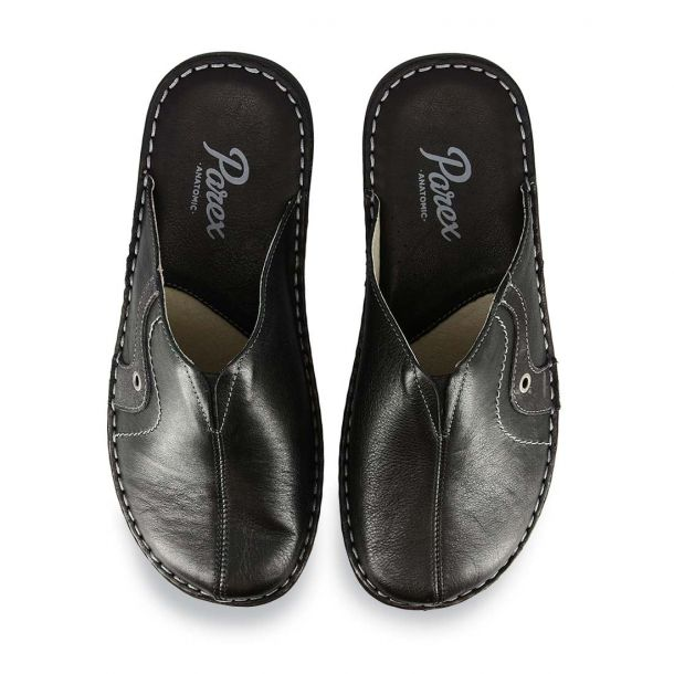 Men's Leather House Slippers Parex 10120247