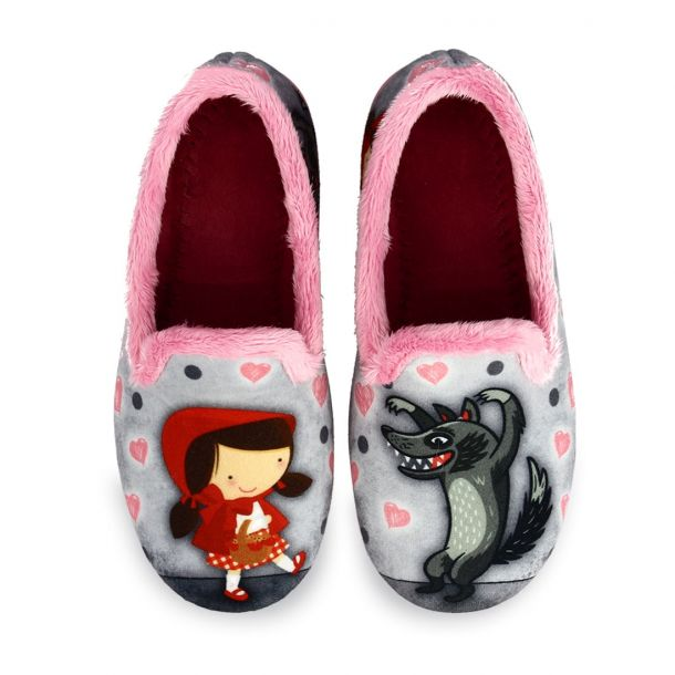 Kid's House Slippers Little Red Riding Hood 10122341