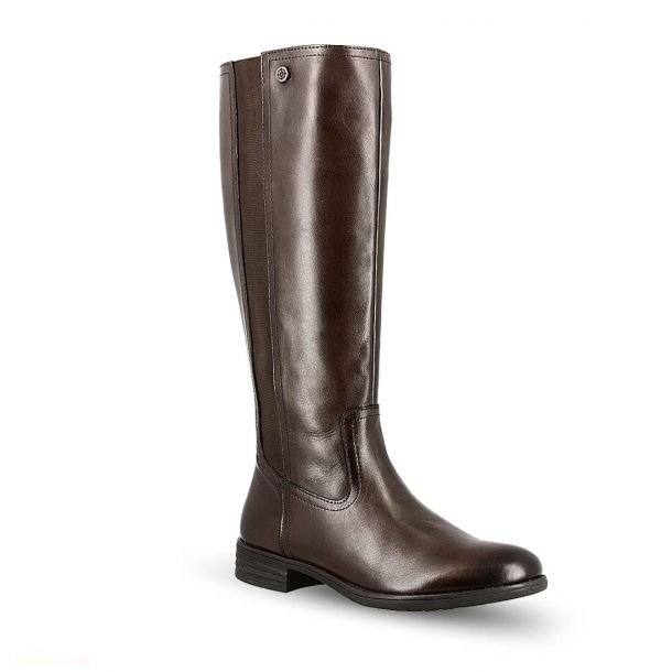 Woman's Leather Boots BUSSOLA 3418-L005-BW1641