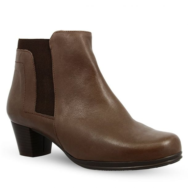 Women's Leather Ankle Boots Parex