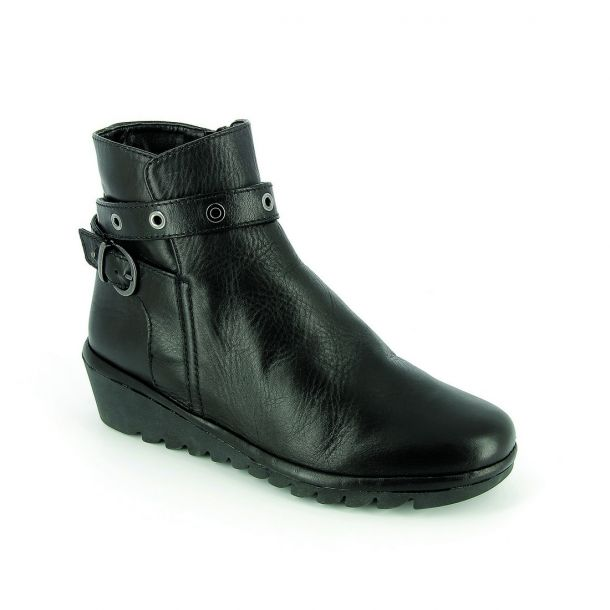 Women's Leather Ankle Boots THEFLEXX Mellhole