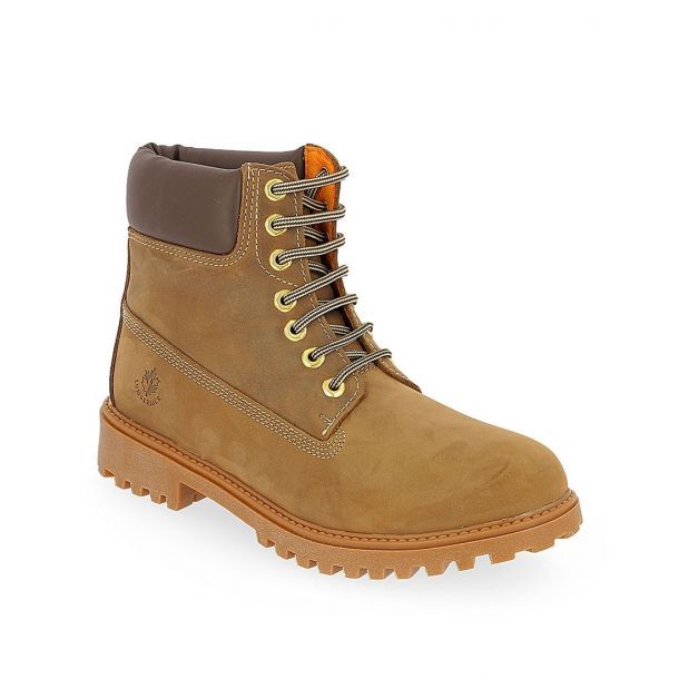 Men's Leather Ankle Boots LUMBERJACK