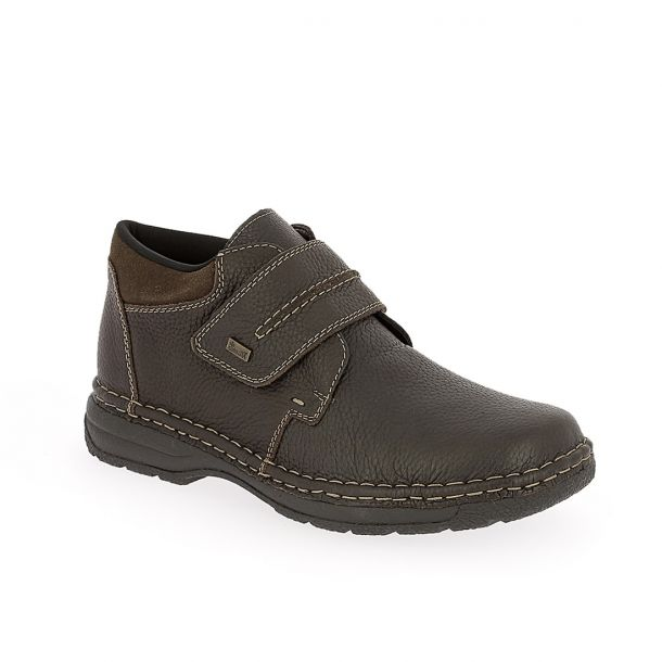 Men's Leather Ankle Boots RIEKER