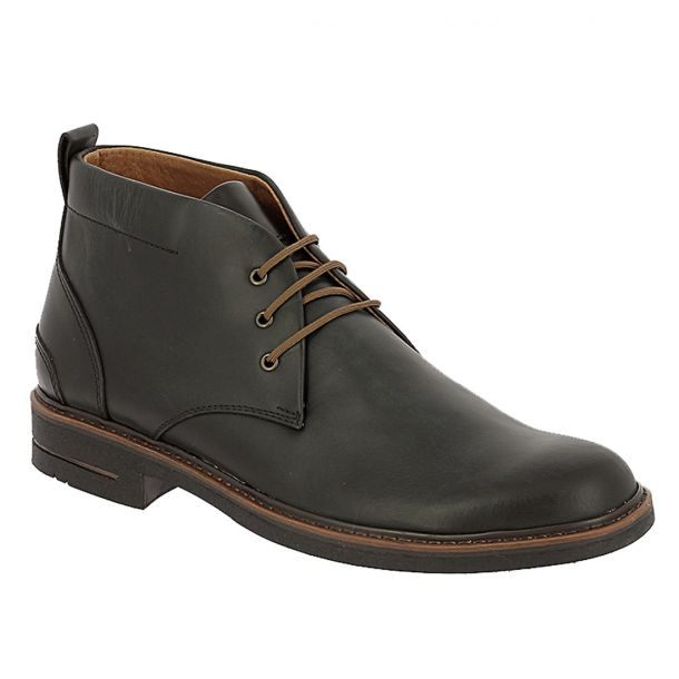 Men's Real Leather Ankle Boots Parex