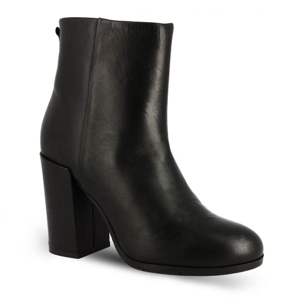 Women's Heeled Ankle Boots The Flexx D9011_02 CASHMERE