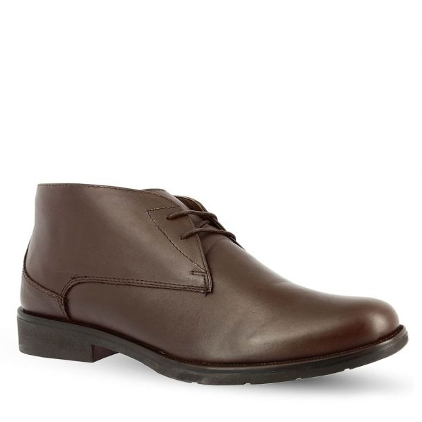 Men's Leather Chukka Boots Parex