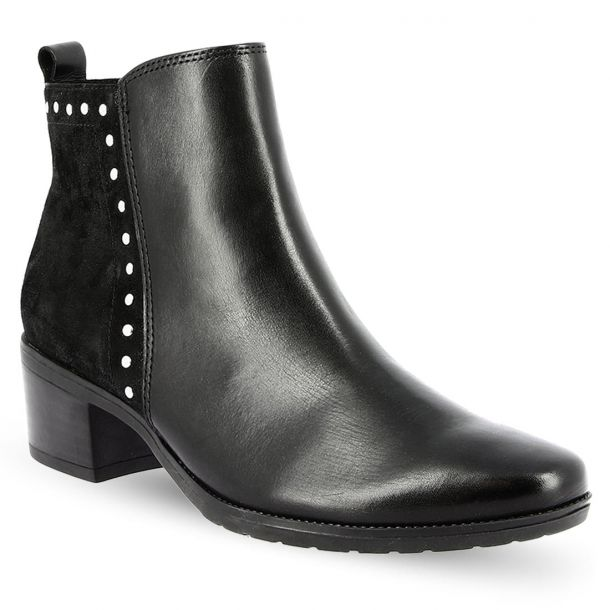 Women's Leather Ankle Boots CAPRICE 9-9-25420-21