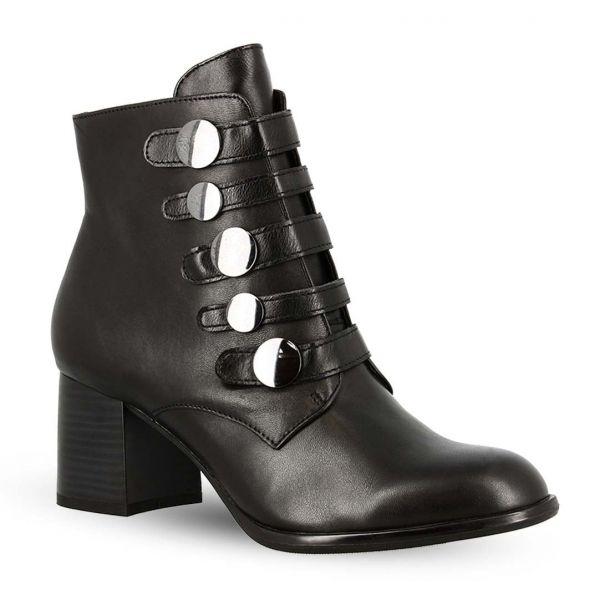 Women's Leather Ankle Boots S.Oliver 5-5-25349-21