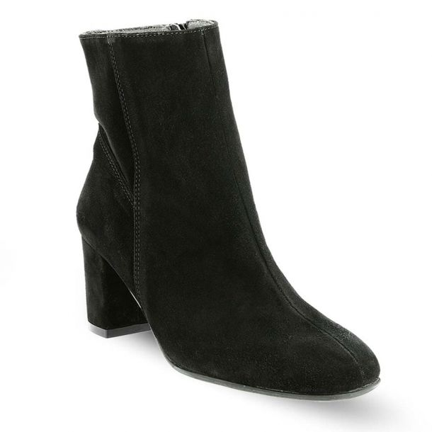 Women's Suede Leather Ankle Boots RAGAZZA 020