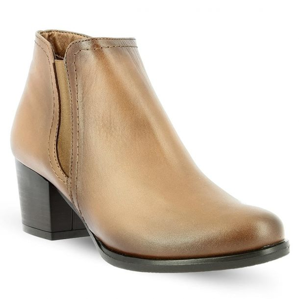 Women's Leather Ankle Boots RAGAZZA 0709