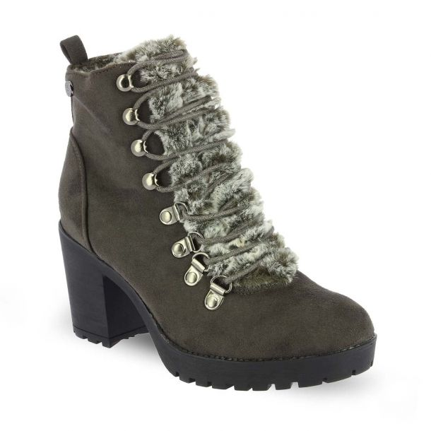 Women's Heeled Lace up Ankle Boots  Xti 48454