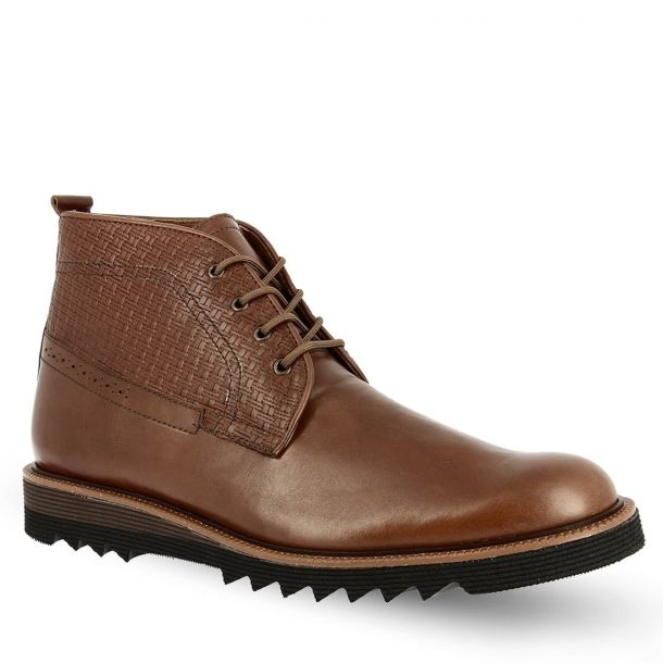 Men's Leather Desert Boots Parex