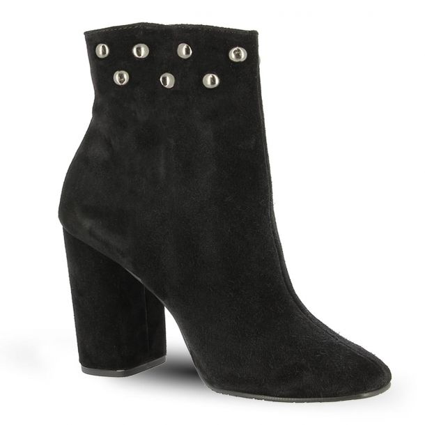 Women's Suede Leather Ankle Boots Parex