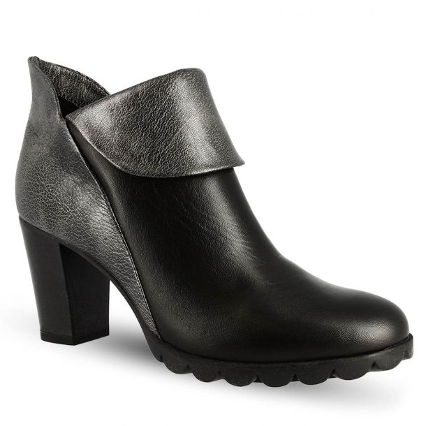 Women's Heeled Ankle Boots The Flexx  A701_21 CASHMERE/ORME