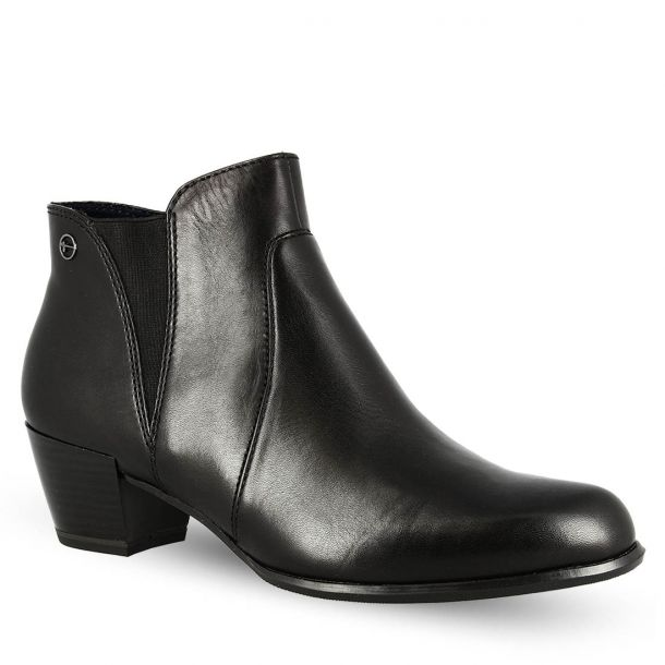 Women's Leather Ankle Boots Τamaris 1-1-25353-21 OCIMUM