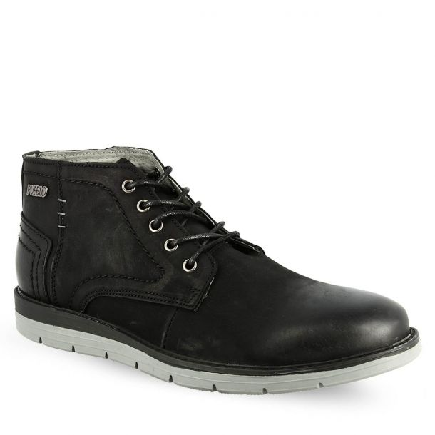 Men's Leather Lace Up Ankle Boots Jag Davin