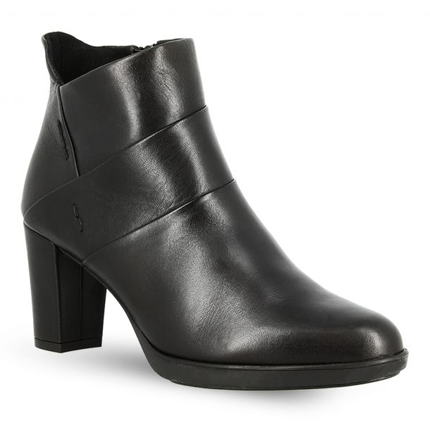 Women's Leather Ankle Boots THE FLEXX B652_36 CASHMERE