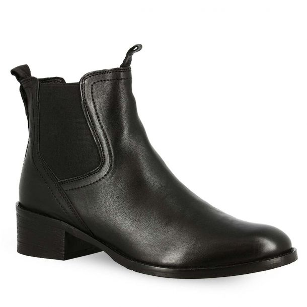 Women's Leather Ankle Boots Hosis Clu5764