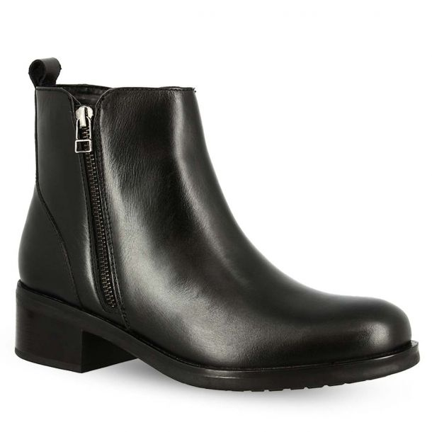 Women's Leather Ankle Boots Hosis Prf7369
