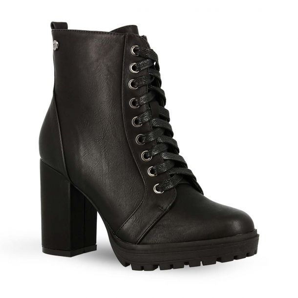 Women's Lace Up Ankle Boots Xti 49449