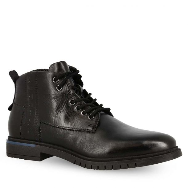 Men's Leather Lace Up Ankle Boots Bugatti 311-78030-1000 1000