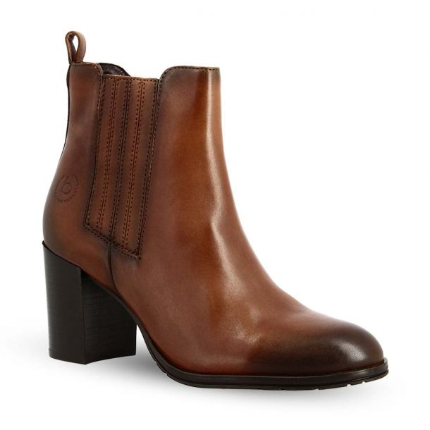 Women's Leather Ankle Boots Bugatti 411-80433-1000 6300
