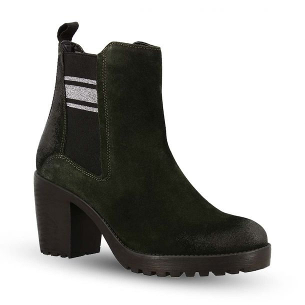 Women's Leather Ankle Boots Bugatti 411-76535-1400 7100