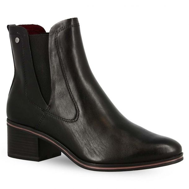 Women's Leather Ankle Boots Tamaris 1-1-25003-23 001
