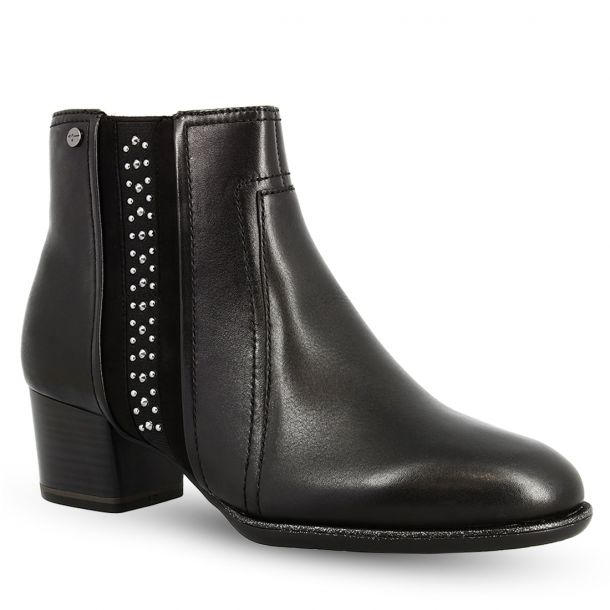 Women's Black Ankle Boots Tamaris 1-1-25360-23 001