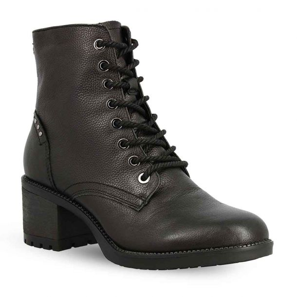 Women's Leather Lace Up Ankle Boots Tamaris 1-1-25206-25 001