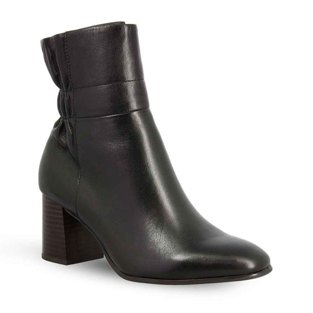 Women's Leather Ankle Boots Tamaris 1-1-25076-25 001