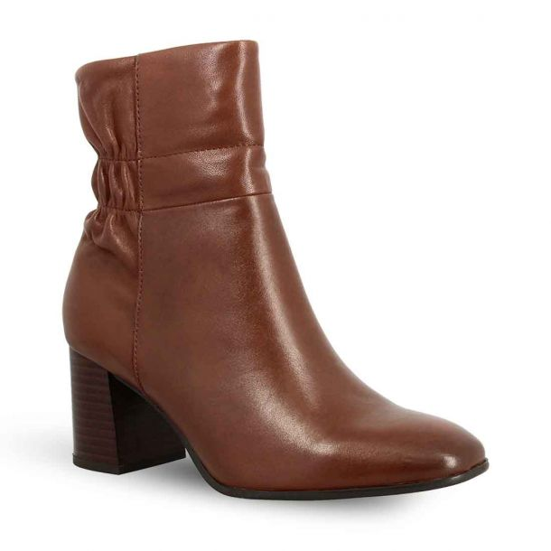 Women's Leather Ankle Boots Tamaris 1-1-25076-25 305