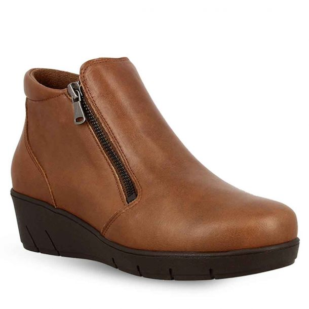 Women's Leather Ankle Boots Parex 10324072