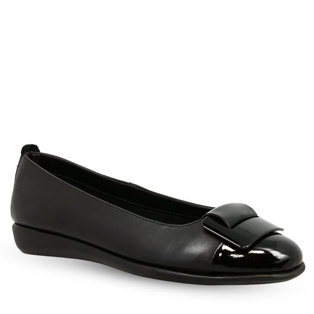 Women's Leather Ballet Flats THEFLEXX Rise N Curry