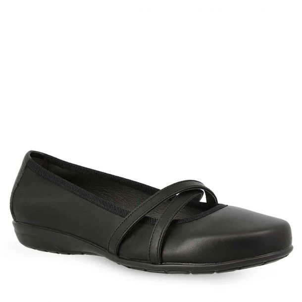 Women's Leather Ballerinas Parex 10422004