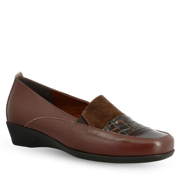Women's Leather Mocassins Parex