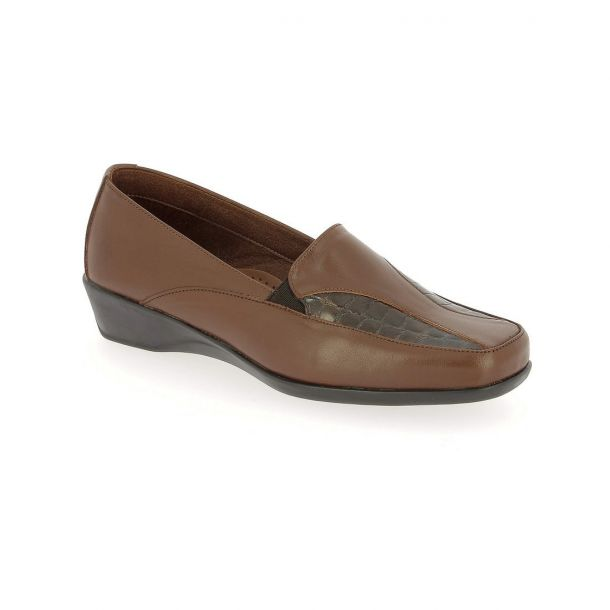 Women's Leather Moccasins PAREX